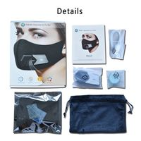 kn95 electric face masks anti germs virus flu pollution mask