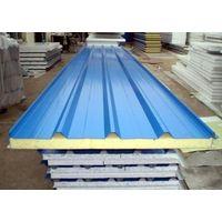 PU Sandwich Panel, Room Building Material Polyurethane Sandwich Panels