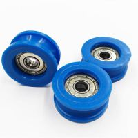 Carbon / Chrome Steel 626ZZ Ball Bearing With Pom Costing pulley Wheel