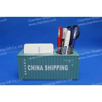 CHINA SHIPPING Pen Container|Namecard Holder