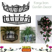 Iron Wall Basket planter