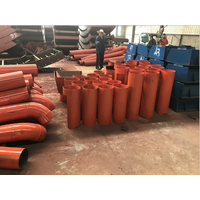 Tunnel lining concrete grouting device