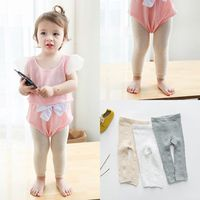 wholesale comfortable kids leggings cotton children pants