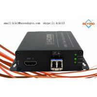 4k HDMI extender to fiber optic support 10G for monitor or projector thumbnail image