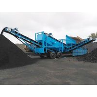 Model 1400 High Efficiency Portable Coal Crusher Max outlet 400Ton/Hour Max Breaking Diameter 100cm