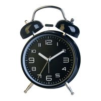 Double Bell Ring Quartz alarm table clock