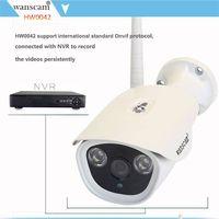 Plug&play wifi AP bullet security camera
