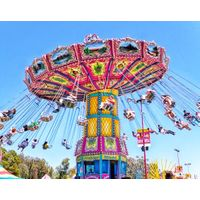Beautiful design outdoor wave swinger amusement park rides