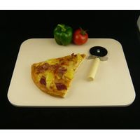 "7""x9"" ceramic pizza baking stone"