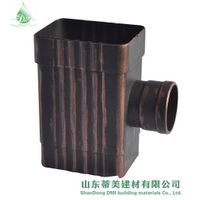 Leading Reputation Shandong Supplier Metal Alu Rainwater Pipe and Accessorie, View Metal Alu Rainwat