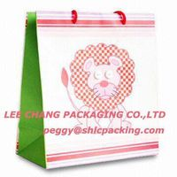 lion paper shopping bag
