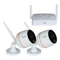 2CH 1080P H.264 MINI WIRELESS Surveillance KIT thumbnail image