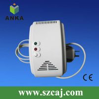 ac power home co gas alarm detector with valve