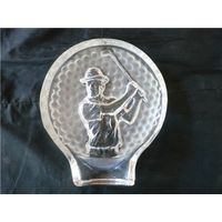 Crystal Iceberg Crystal Golf Medals Crystal Golf Trophy