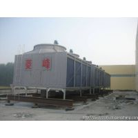 Exporting:FRP lingfeng square counterflow low noise type cooling tower