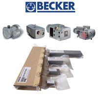 Graphite carbon vane for becker vacuum pump