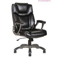 Office chair manager executive boss chair ergonomic design good synthetic leather