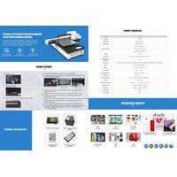 xp600 small format 6090 UV printer led universal UV flatbed printer for mobile phone case/tile/glass thumbnail image