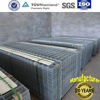 hot dipped galvnaized wire fence panel