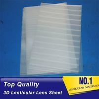 75LPI 0.45MM PET lenticular sheet 3d lenticular printing film