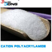 Cationic polyacrylamide for water purification