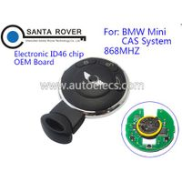 Replacement Keyless Entry Smart Remote Key Fob For B MW MINI CAS System 3 Button ID46 Chip 868Mhz OE thumbnail image
