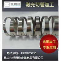 new style promotional laser cut pierced for stainless steel tube/pipe hardware thumbnail image