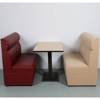 Good quality commerical modern desgin sofa restaurant booth