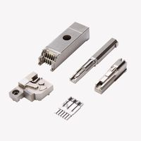 Dongguan connector mould part manufacturer-insert moulding plastic components supply thumbnail image
