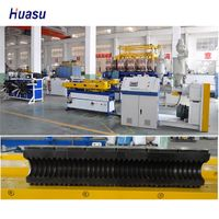 Flexable Single Wall Corrugated Pipe Extrusion Line