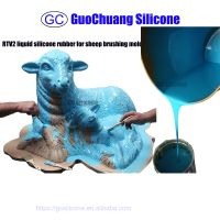 rtv2 liquid silicone rubber mould making for cement sculptures
