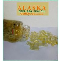 Wholesale The Amazon Hot Sale Alaska Omega 3 Fish Oil Softgel for Healthcare Supplement