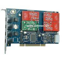 TDM410P 4 port asterisk card with 3FXO &1 FXS digium card (TDM400P)  for VOIP PBX elastix trixbox