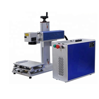 Raycus/ Ipg/Mopa 20W 30W 50W 70W 100W Fiber Laser Marking Machine For Metal