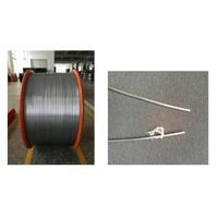 Plastic Coated Steel Wire for Optic Fiber Cable Using