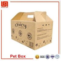 New product China supplier cheapest quality custom lightweight recyclable pp pet carrier box cages