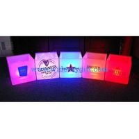 customized color Double layer Led beer Ice bucket with PP material thumbnail image