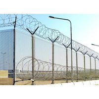 HIGH SECURITY WITH RAZOR WIRE 358 SECURITY FENCE