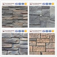 Interior and exterior wall cladding decoration faux stone veneer
