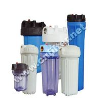 plastic water filter system/housing