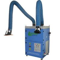 LB-JZX Portable welding fume extractor with double cartridge filters, Laser and plasma cutting smoke thumbnail image