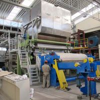 high speed jumbo roll facial tissue paper machine bathroom toilet making equipment thumbnail image