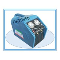 Dkt095b 3/4HP High Speed Oil-Less Compressor Spark-Proof Refrigerant Recovery Recycling System thumbnail image