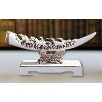 Imitation ivory resin crafts