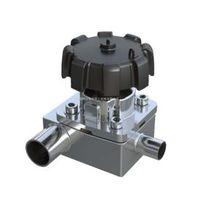 T-type diaphragm valve,T-type diaphragm valve with tee, stainless steel t type diaphragm valve sani thumbnail image