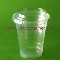 14oz clear dispoable plastic cup