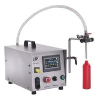 Tabletop Gear Pump Liquid Filling Machine FG-150
