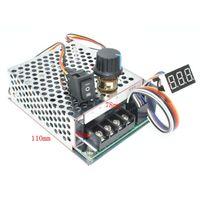 12v 24v 36v 48v Brush dc Motor Speed Controller 40A with CW CCW Switch
