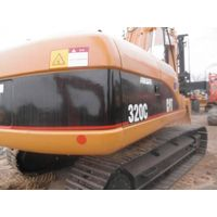 Used Cat 320C crawler excavator in good condition for building