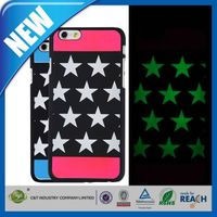C&T noctilucent style pc protective cases for iphone 6